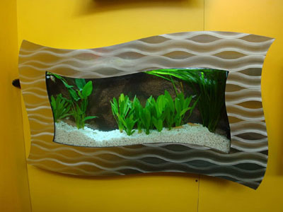 Sell wall aquarium and fish tank FGL - China Wall Hanging