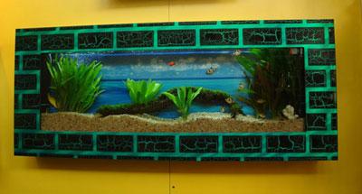 Sell wall aquarium and fish tank PA3 - China Wall Hanging