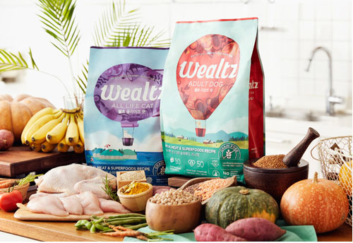 WEALTZ DOG & CAT FOOD
