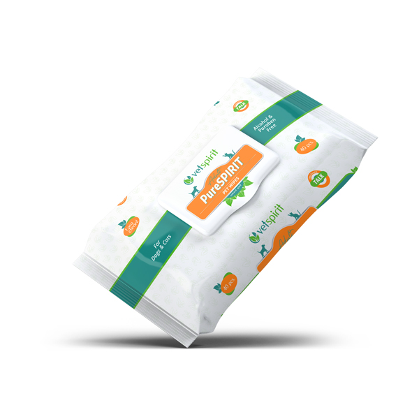 PureSPIRIT Adult - Pet Wipes 40/1