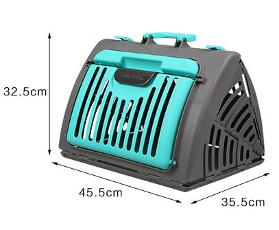 Foldable cat carrier