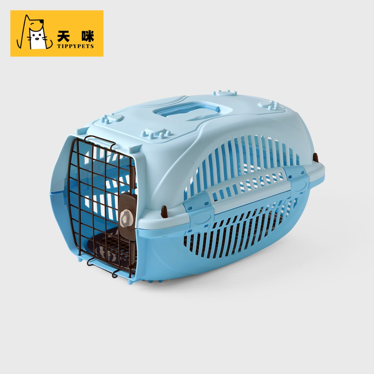 Tippy Pets New IATA Standard Pet Carrier Kennel Pet Cage Pet Travel Kennel For Dog and Cats