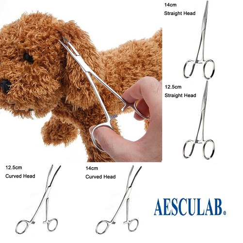 Pet Eair Hair Puller forceps = Aesculab Instruments Co